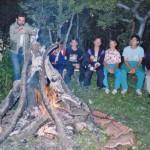 A rózsadombi ifi-tábor 1991