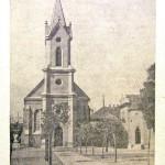 Ünnepi képeslap a templomépítés 50. évfordulójára 1948.