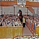 A centenáriumi hálaadó Istentisztelet 1998.