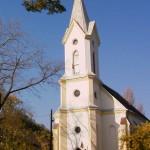 A templom - tatarozás után 1998.
