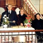 Ablonczy Zsolt lelkipásztor beiktatása 1997.
